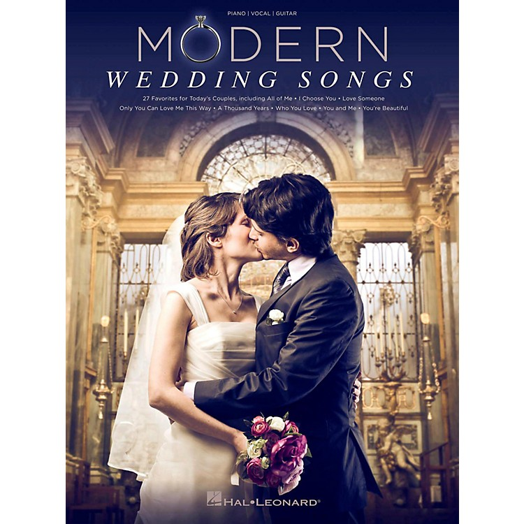 Hal Leonard Modern Wedding Songs - 27 Favorites For Today's Couples