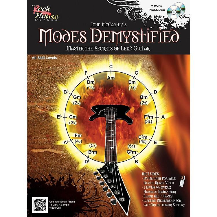 Rock HouseModes Demystified Book/2 DVD Pack