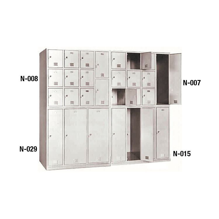 NorrenModular Instrument Cabinets in BambooN-008 with 11 Compartments