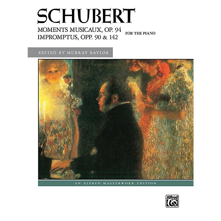 AlfredMoments Musicaux Op 94 & Impromptus Opp 90 & 142 Late Intermediate Early Advanced Combbound Bk