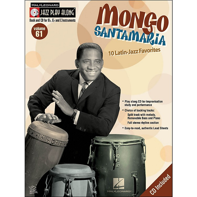 Hal Leonard Mongo Jazz Play-Along Volume 61 Book/CD