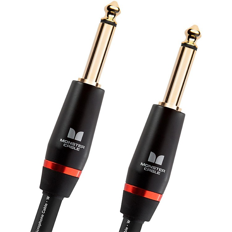 Monster Cable Monster Bass 1/4 Inch Straight to Straight Instrument Cable 12 ft.