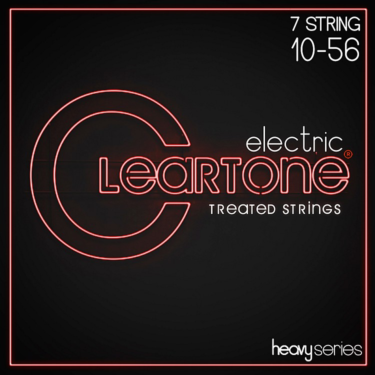 CleartoneMonster Heavy Series Nickel Plated 7-String Light Electric Guitar Strings
