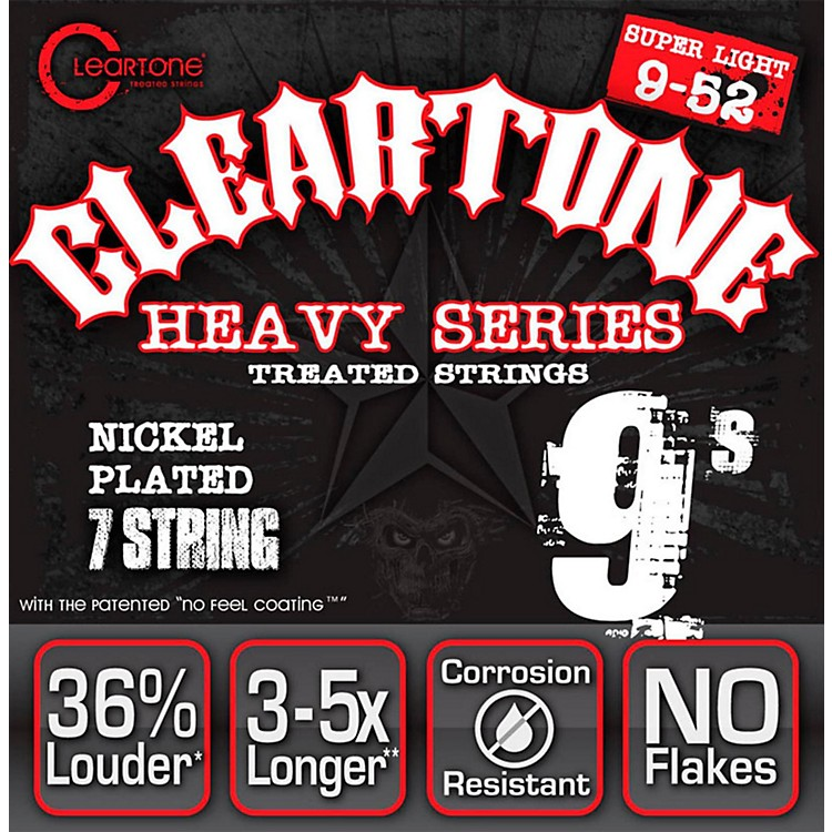 Cleartone Monster Heavy Series Nickel Plated 7-String Super Light Electric Guitar Strings