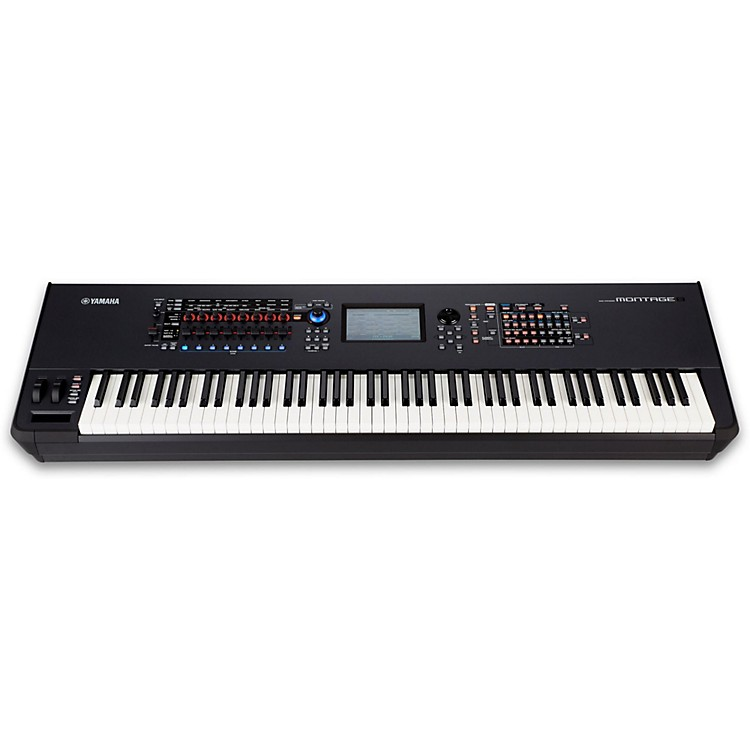 yamaha montage 8 88 key flagship synthesizer music123. Black Bedroom Furniture Sets. Home Design Ideas