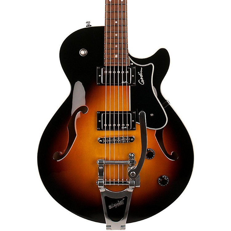 Godin Montreal Premiere HD Electric Guitar with Bigsby Sunburst