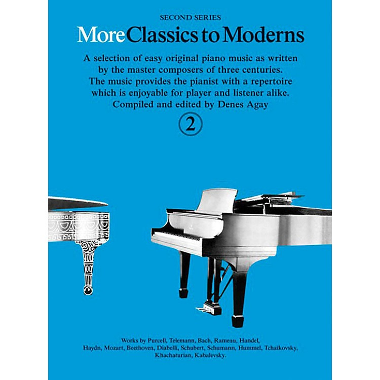 Music SalesMore Classics To Moderns - Second Series Book 2