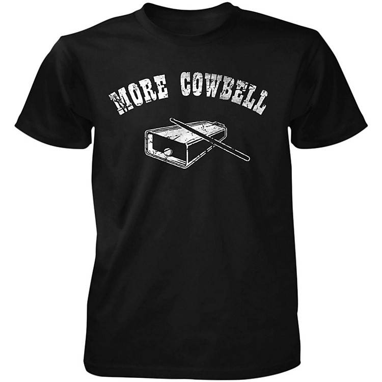TabooMore Cowbell T-ShirtBlackXX-Large