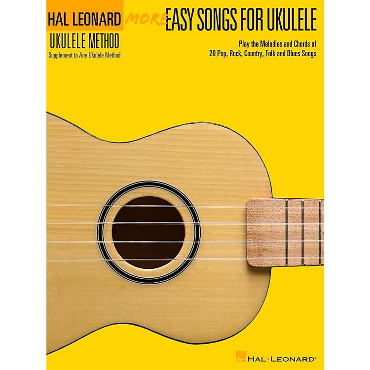 Hal LeonardMore Easy Songs For Ukulele