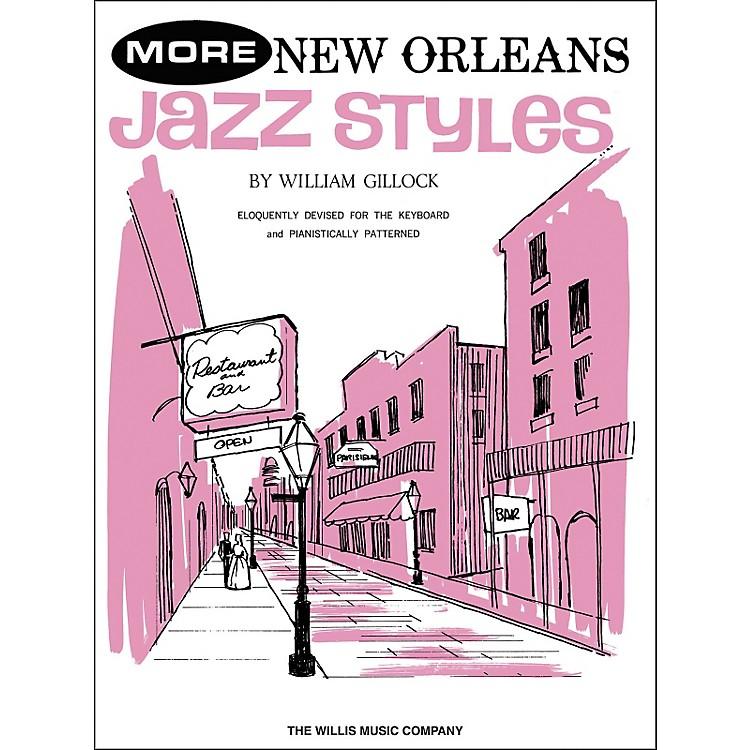 Willis MusicMore New Orleans Jazz Styles Late Intermediate Piano