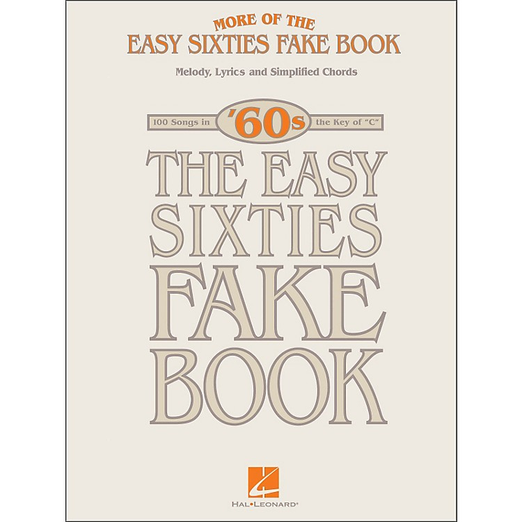 Hal LeonardMore Of The Easy 60's Fake Book
