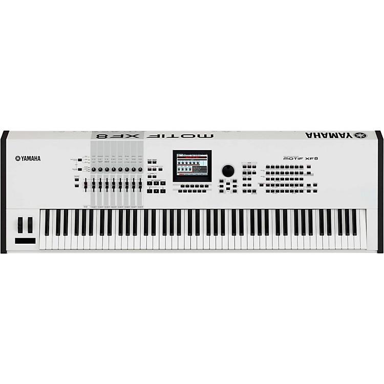 YamahaMotif XF8 White 88 Key Workstation