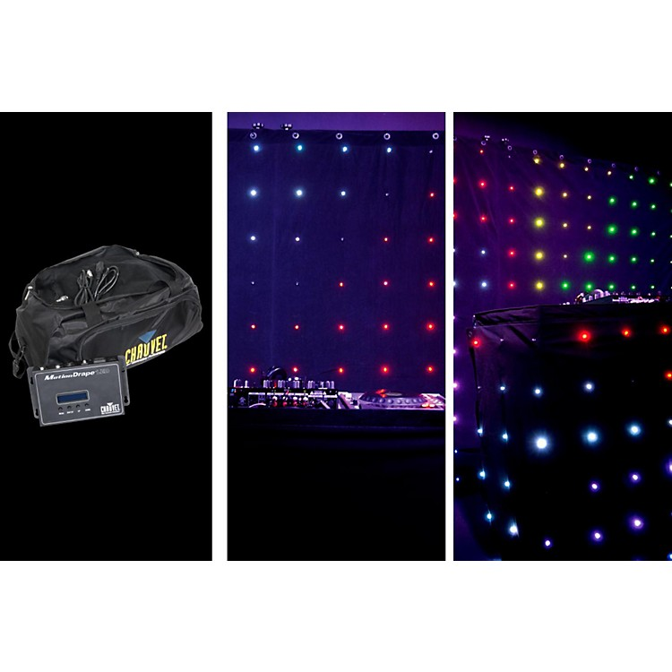 Chauvet Motion Drape TRI Color LED 2x3 Meters