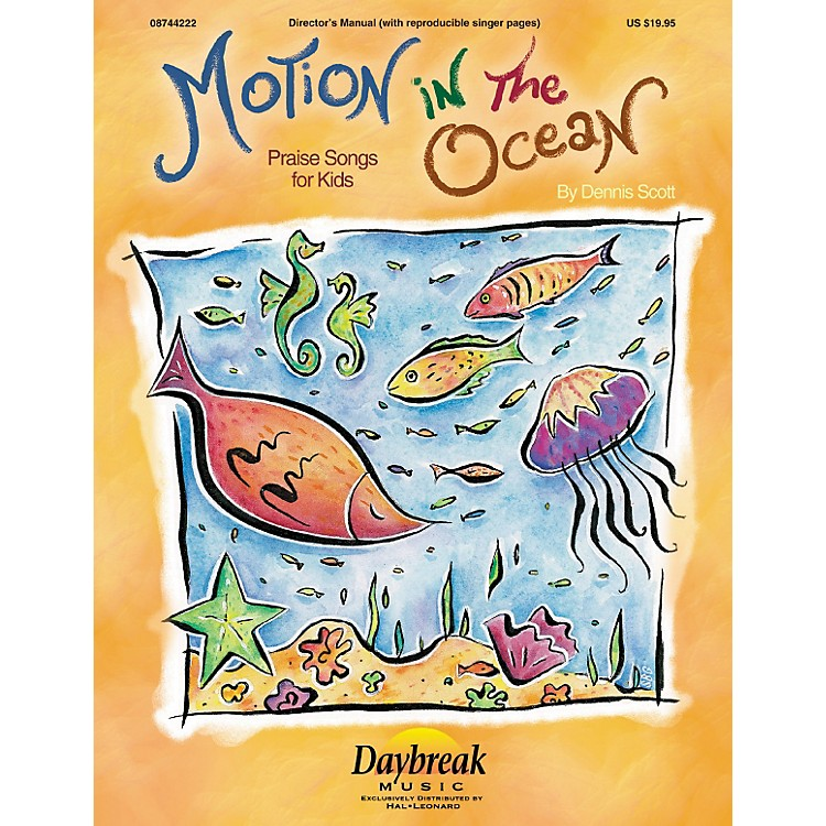 Hal Leonard Motion In The Ocean Choirtrax