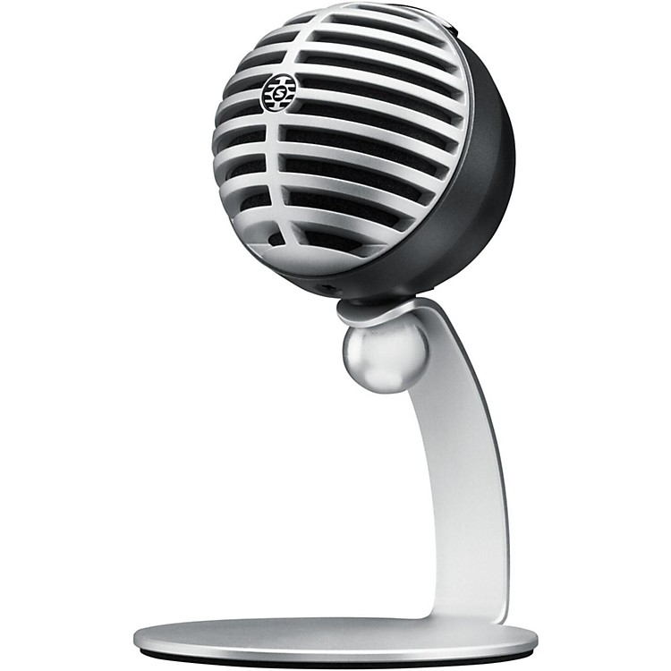 ShureMotiv MV5 Digital Condenser Microphone with USB and Lightning Cables IncludedGray