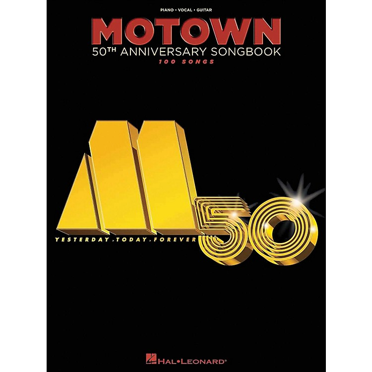 Hal Leonard Motown 50th Anniversary Songbook arranged for piano, vocal, and guitar (P/V/G)