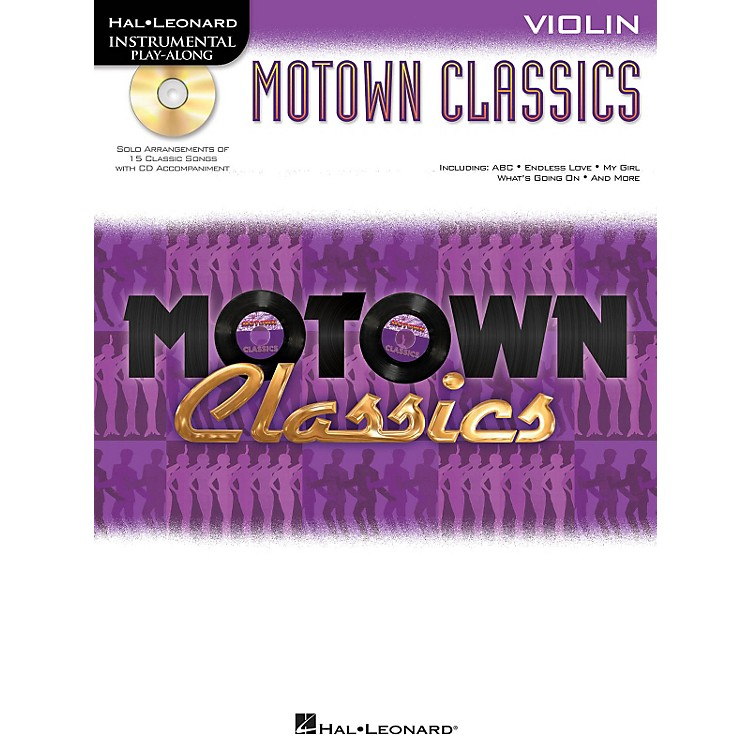 Hal Leonard Motown Classics - Instrumental Play-Along Book/CD Violin