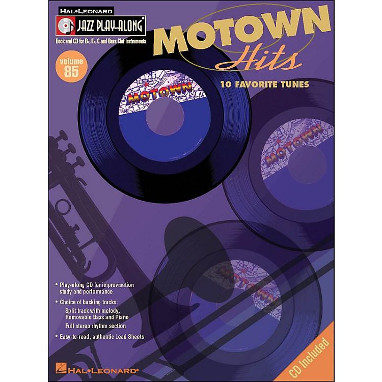 Hal LeonardMotown Hits - Jazz Play-Along Volume 85 (CD/Pkg)