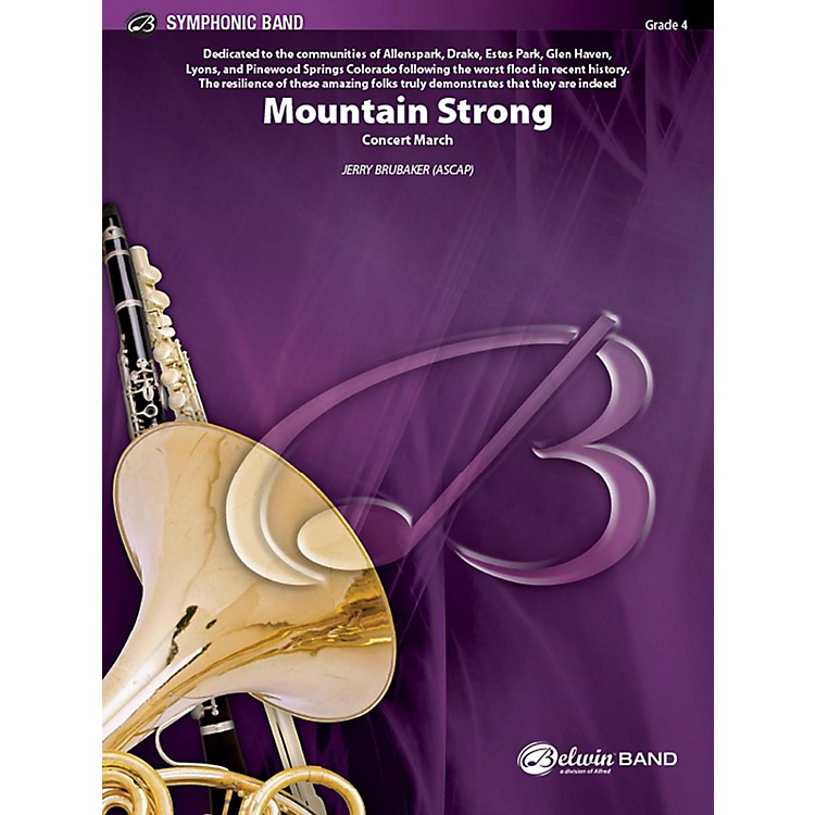 Alfred Mountain Strong Concert Band Grade 4 Set