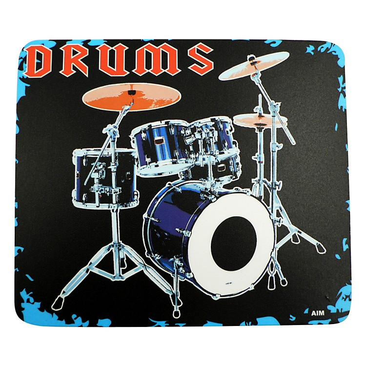 AIM Mouse Pad Drum Set