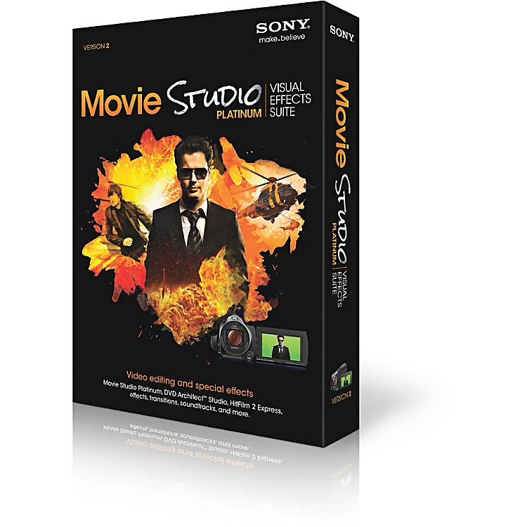 Sony Movie Studio Platinum Visual Effects Suite 2