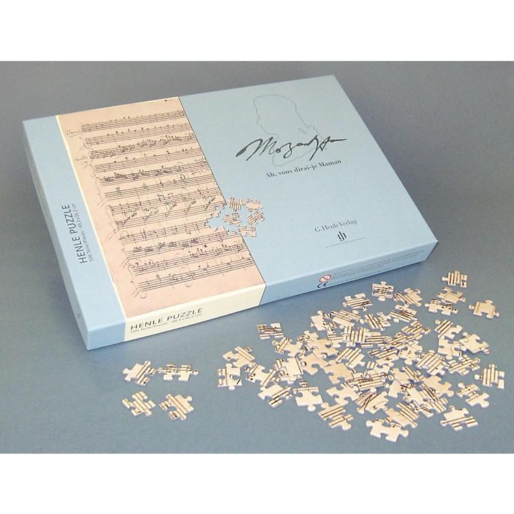 G. Henle VerlagMozart - Ah, vous dirai-je Maman (Twinkle Twinkle Little Star) 500-Piece Puzzle