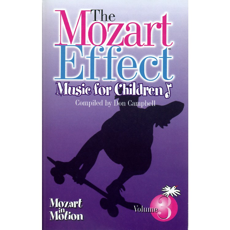 Classical Kids Mozart Effect Educational Media Series Mozart In Motion Cassette