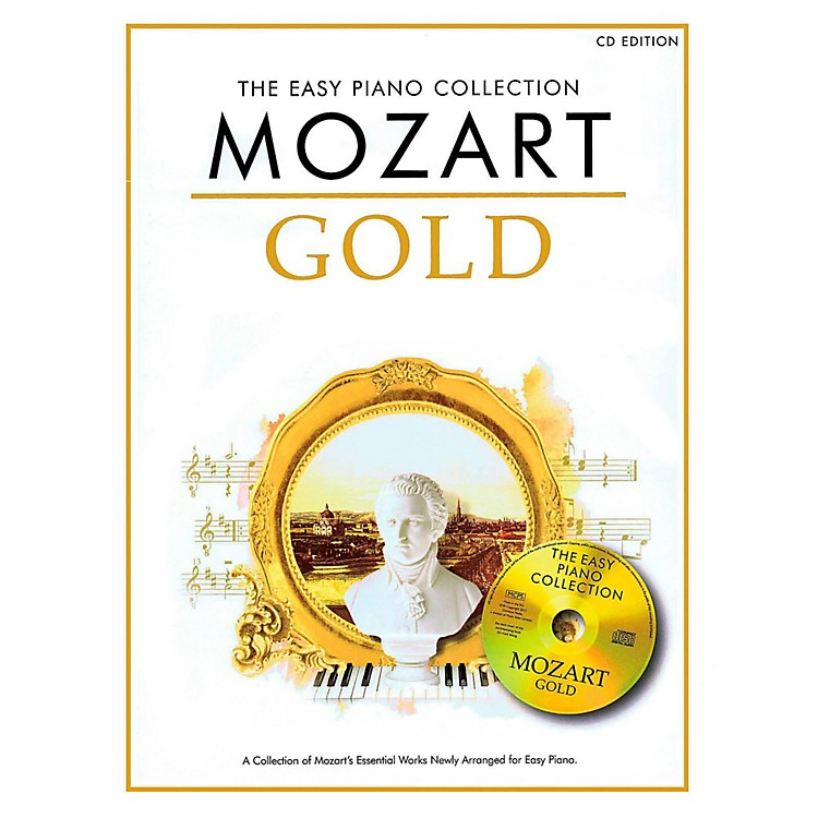 Music SalesMozart Gold - The Easy Piano Collection Book/CD
