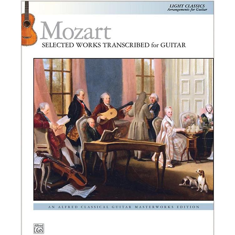 AlfredMozart  Selected Works Transcribed for Guitar Book