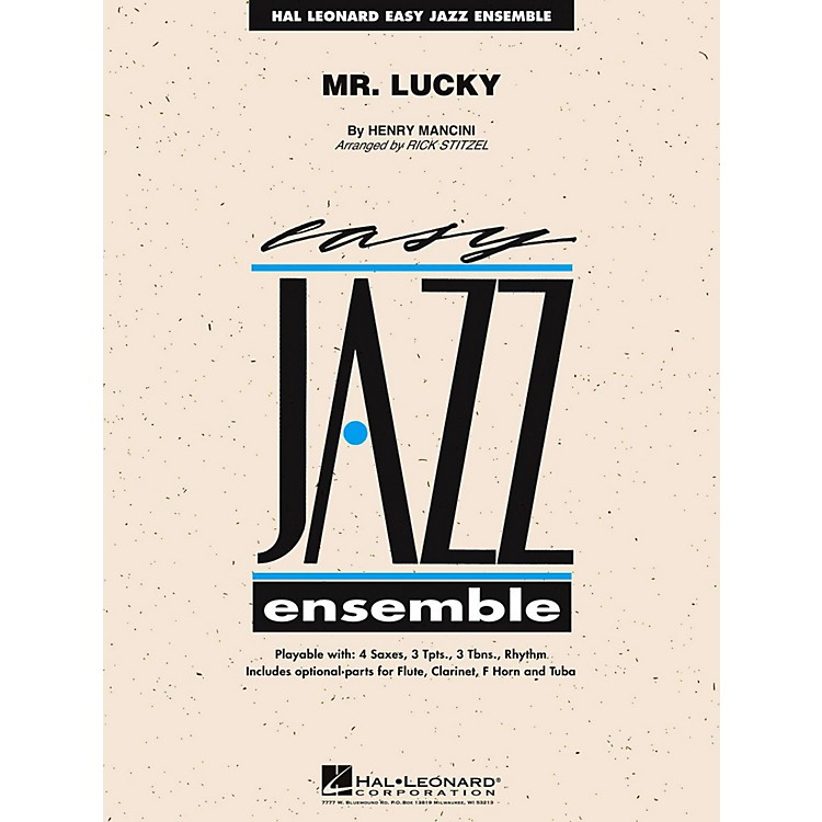 Hal Leonard Mr. Lucky Jazz Band Level 2