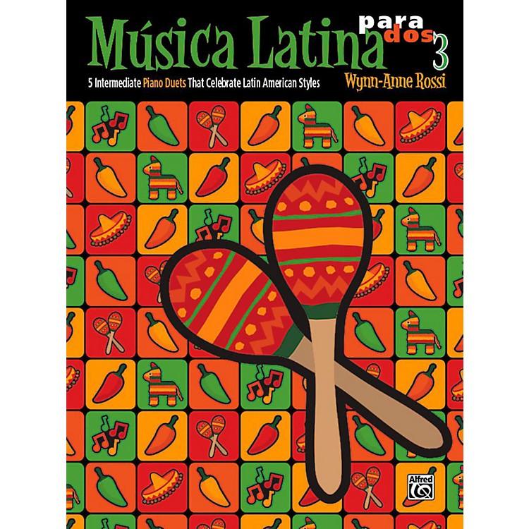 AlfredMºsica Latina para Dos, Book 3 - Intermediate
