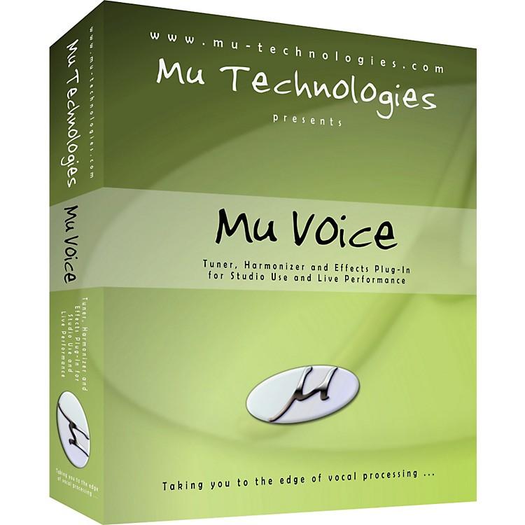 Mu TechnologiesMu Voice Vocal Plug-In