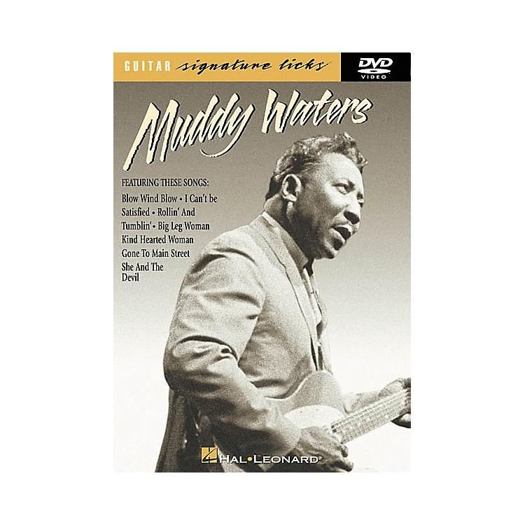 Hal LeonardMuddy Waters Guitar Signature Licks (DVD)