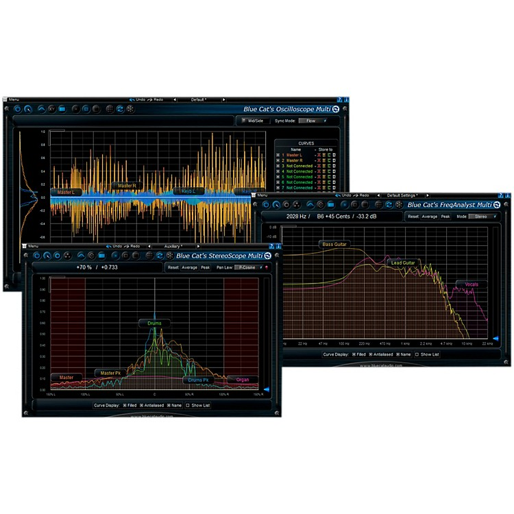 Blue Cat Audio Multi Frequency Analysis Plug-in Pack Software Download