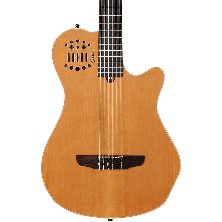 GodinMultiac Grand Concert SA Nylon String Electric GuitarNatural High Gloss