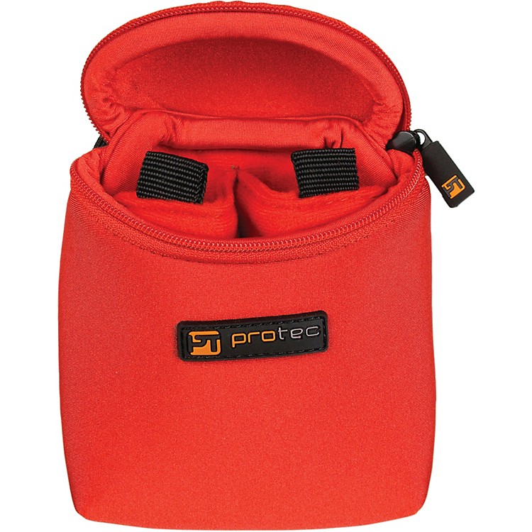 Protec Multiple Trombone/Alto Sax/Clarinet Mouthpiece Pouch Red