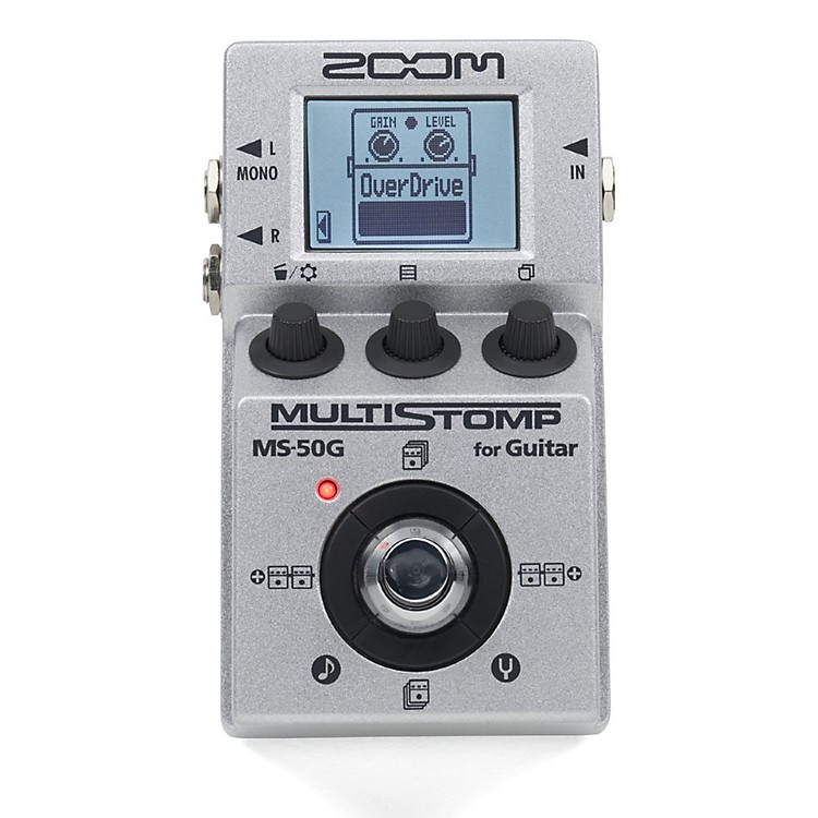 ZoomMultistomp MS50G Pedal
