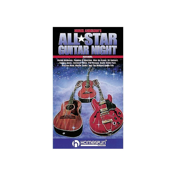 Hal LeonardMuriel Anderson's All Star Guitar Night Video