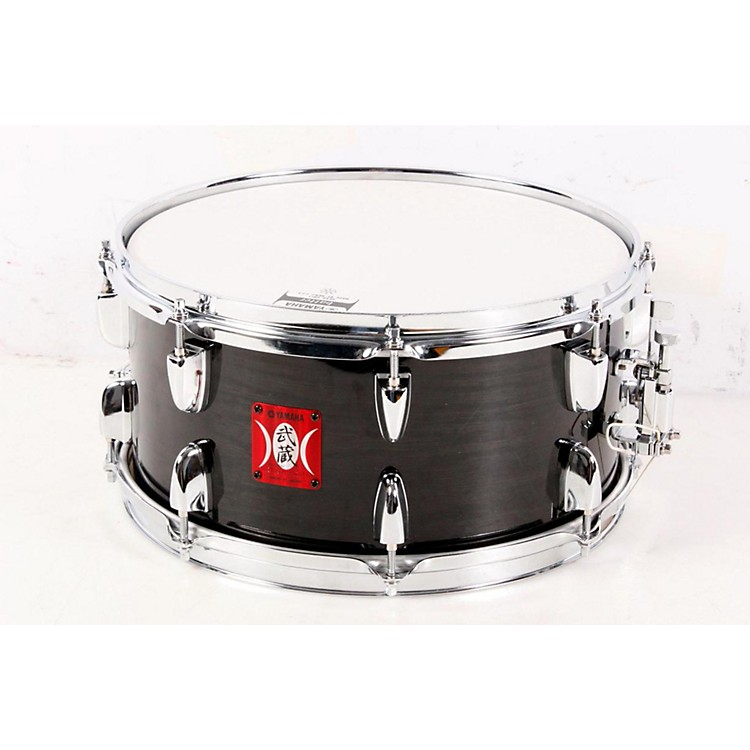 Yamaha Musashi Oak Snare Drum See-Through Black Oak 888365046518