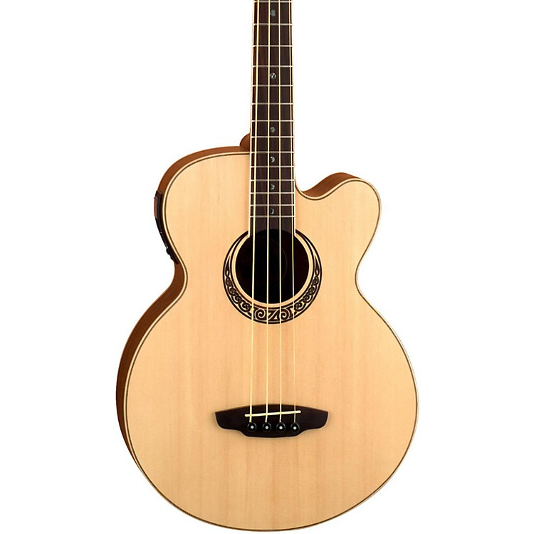 Luna Guitars Muse Acoustic-Electric Bass Guitar