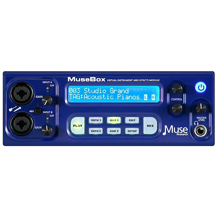 PeaveyMusebox Virtual Instrument and Effects Module