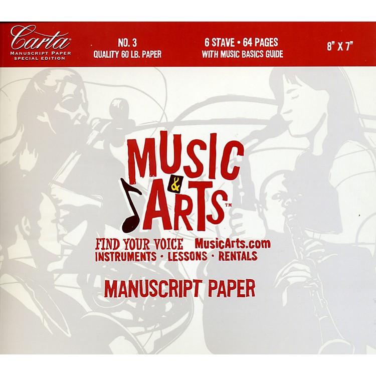 Hal LeonardMusic & Arts Carta Manuscript Paper Pad # 3
