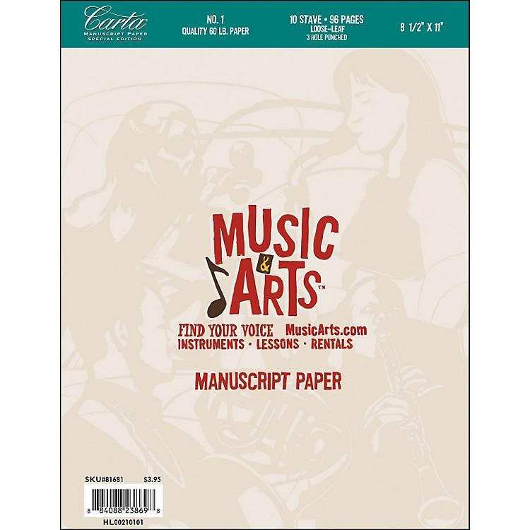 Hal LeonardMusic & Arts Carta Manuscript Paper Pad
