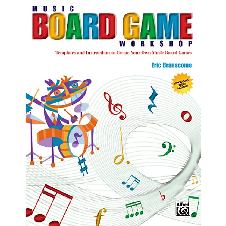 AlfredMusic Board Game Workshop Book