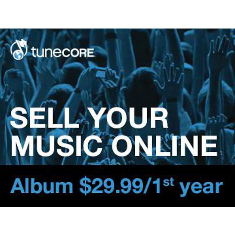 TUNECORE Music Distribution - Album Software Download