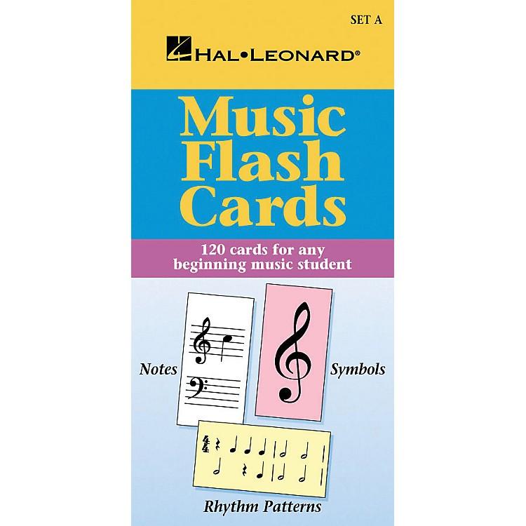 Hal LeonardMusic Flash Cards Set A HLSPL