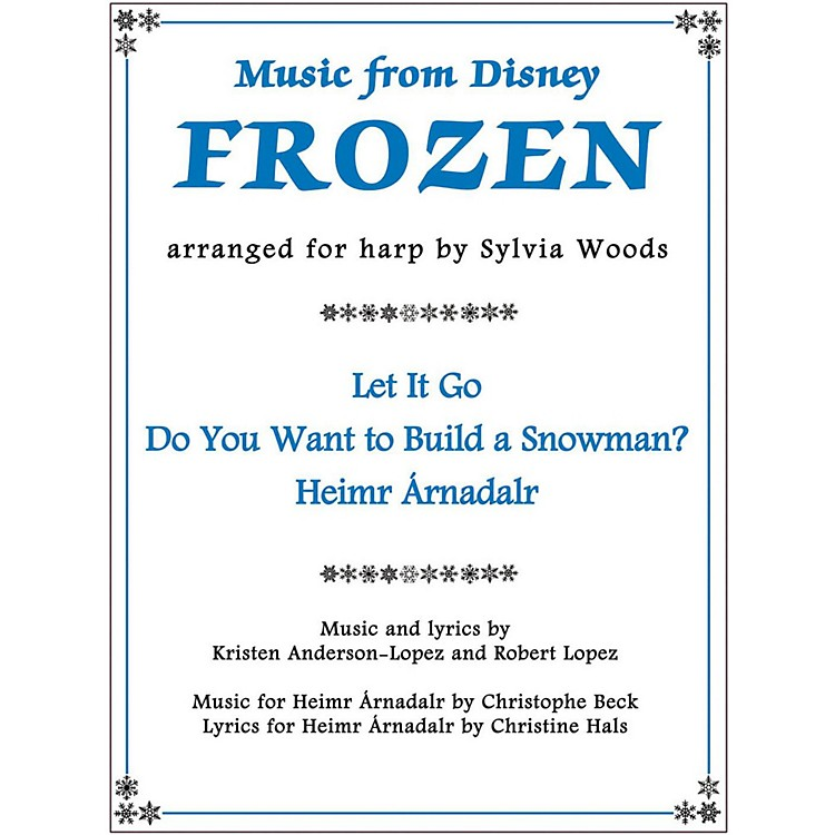 Hal Leonard Music From Disney's Frozen for Harp