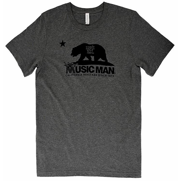 Ernie Ball Music ManMusic Man Bear T-ShirtXX LargeHeather Gray
