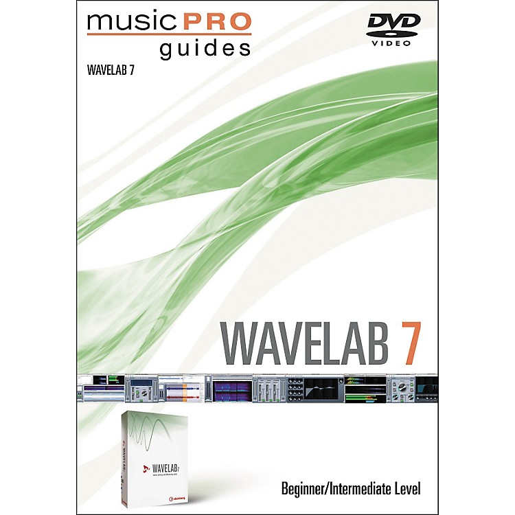 Hal Leonard Music Pro Guide Wavelab 7 Beginner/Intermediate DVD