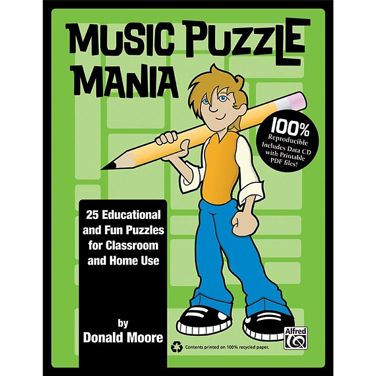 AlfredMusic Puzzle Mania Book & CD